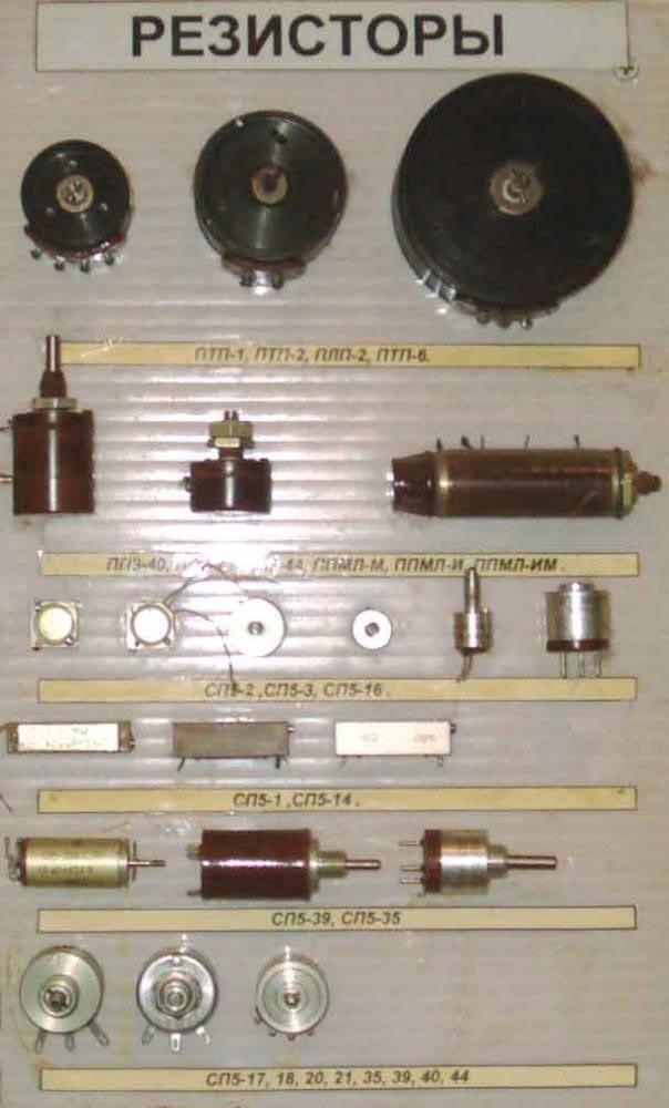 Драгоценные металлы в резисторах