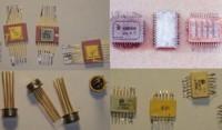 Содержание драгоценных металлов в микросхемах