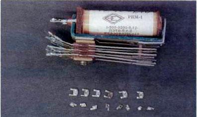 Серебро в реле РКМ1