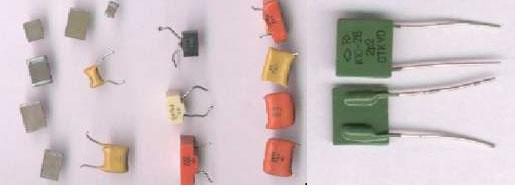 Вид конденсаторов содержащих драгметаллы К10-17 и К10-26