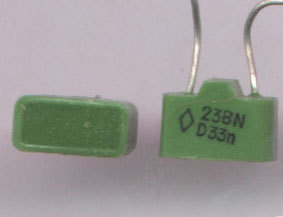 Вид конденсаторов содержащих драгметаллы К10-23