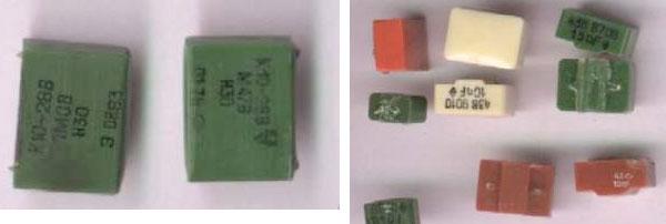 Вид конденсаторов содержащих драгметаллы К10-28