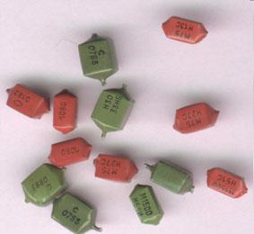 Вид конденсаторов содержащих драгметаллы К10-48
