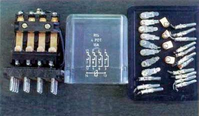Драгоценные металлы в реле R 154POT