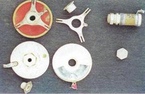 Содержание драгметаллов в конденсаторах переменных