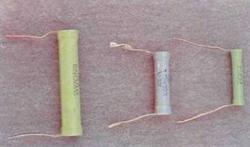 Содержание серебра в резисторах типа ВС.
