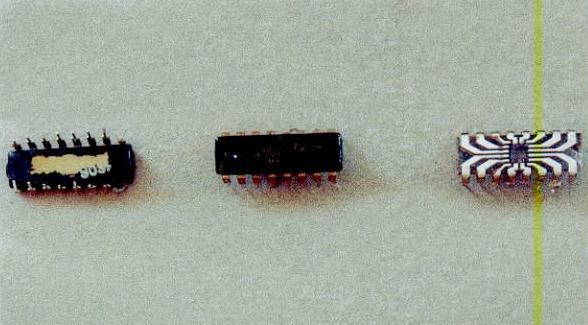Содержание золота в микросхеме К 155 (с дюралюминиевой подложкой)