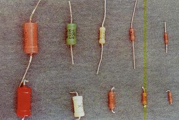 Содержание драгметаллов в отечественных резисторах МЛТ