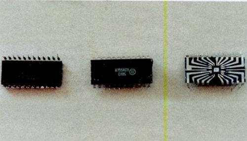 Содержание золота в микросхеме К 155 (крупные)
