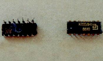 Содержание золота в микросхеме К155ЛН1