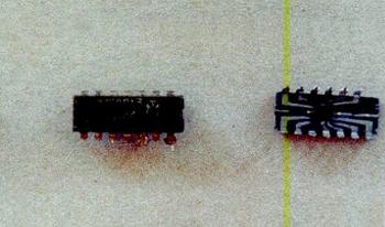 Содержание золота в микросхеме К258ЛА3