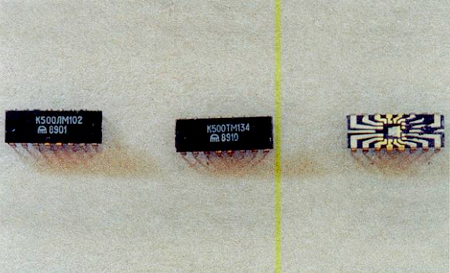 Содержание золота в микросхеме К500ЛМ102