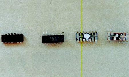 Содержание золота в микросхеме К 131