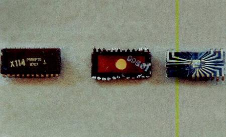 Содержание золота в микросхеме К 556