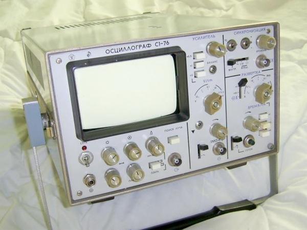 Содержание драгоценных металлов в осциллографе С1-76