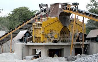 Роторная дробилка руды