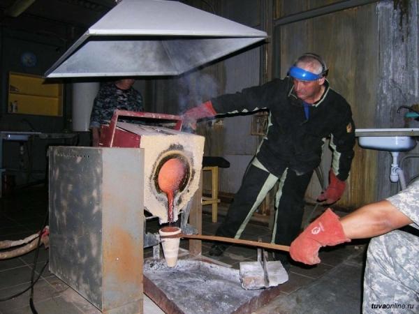 В Туве открыта новая золотоизвлекательная фабрика
