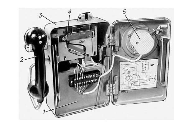 Драгоценные металлы в телефонном аппарате ATM-69