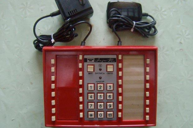 Драгоценные металлы в телефонной приставке Виза-32