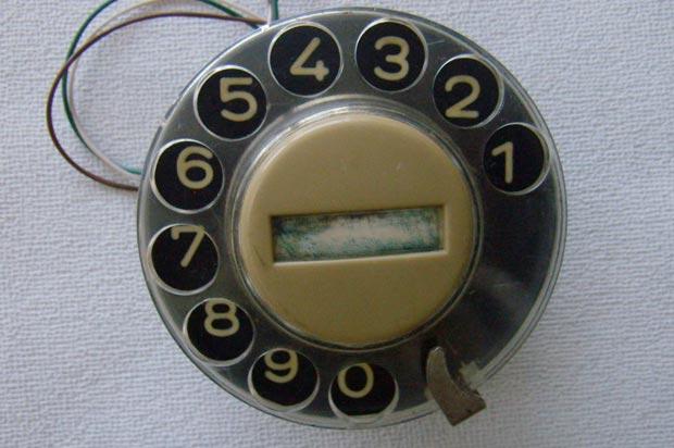 Драгоценные металлы в телефонном номеронабирателе