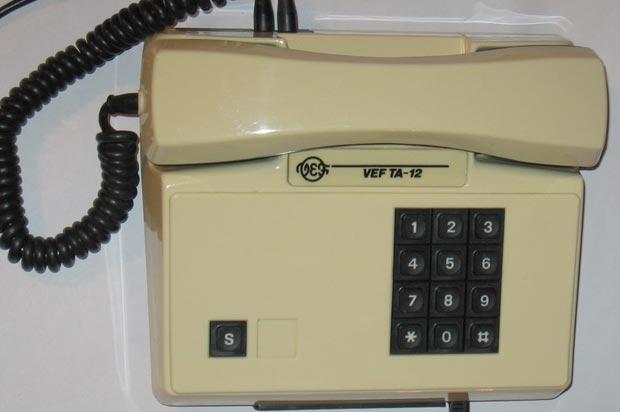 Телефон vef ta-12 схема
