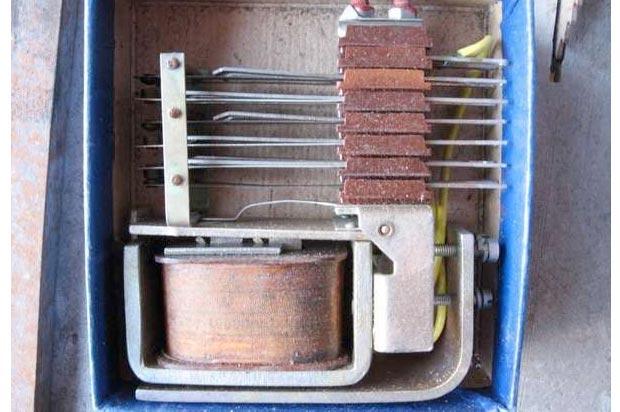 Реле МКУ-48С1 - содержание драгоценных металлов