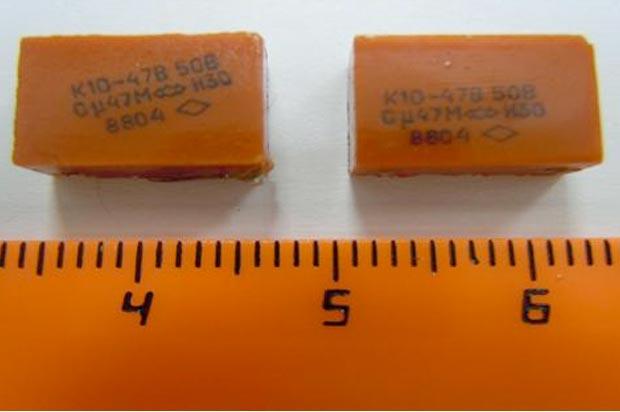 К10-47 конденсатор содержание драгметаллов