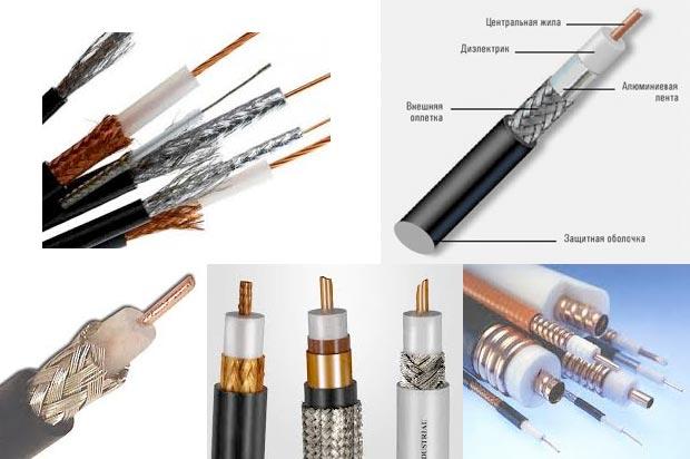 Коаксиальный кабель - радиочастотный