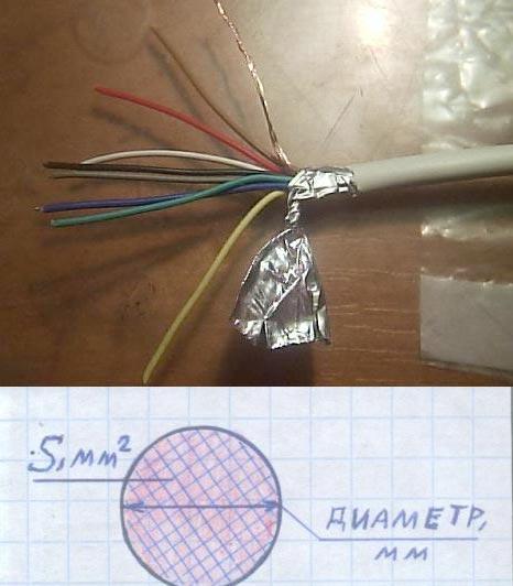 Монтажные провода: диаметр и сечение
