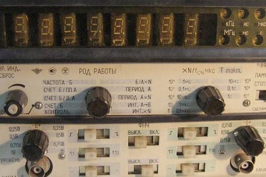 Частотомер - характеристики