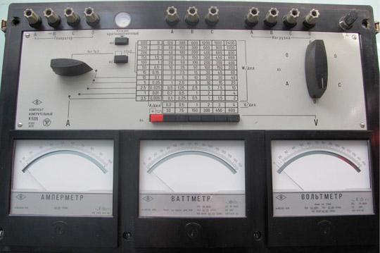 Комплект измерительного оборудования