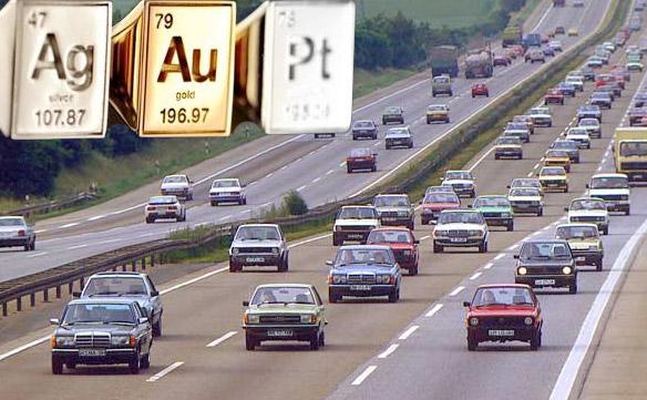 Автомобильный транспорт - - золото, серебро, платина и другие драгоценные металлы