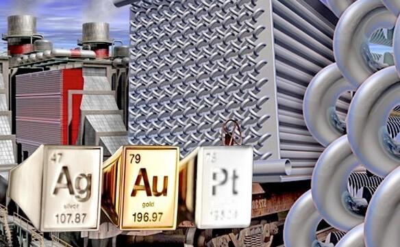 Энергетическое оборудование - драгоценные металлы