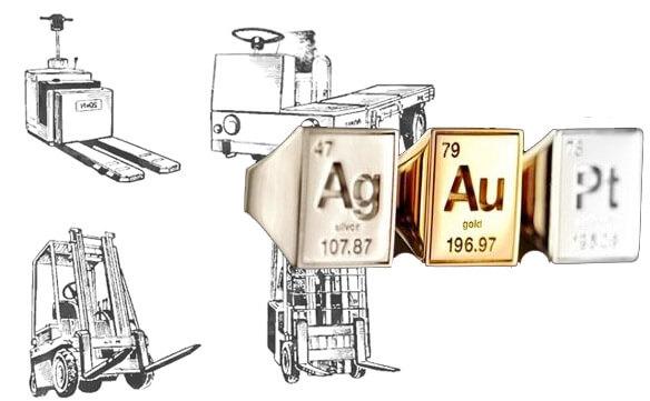 Подъемно-транспортное оборудование - драгоценные металлы