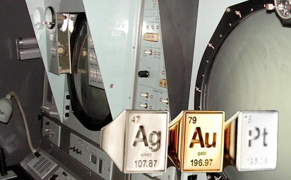Радиолокационное и радиотехническое оборудование - драгоценные металлы в нем