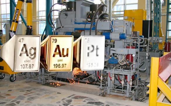 Стендовое, испытательное и полигонное оборудование - драгоценные металлы