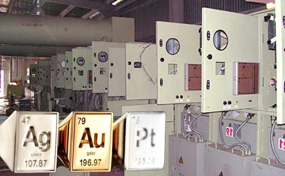 Техника АСУ и Телемеханика - золото, серебро, платина и другие драгоценные металлы