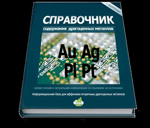 Аффинаж драгоценных металлов - справочник